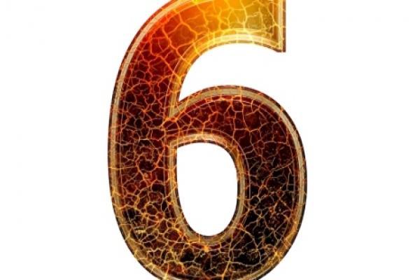 התאמה נומרולוגית למספרי 6